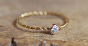 care for diamond rings